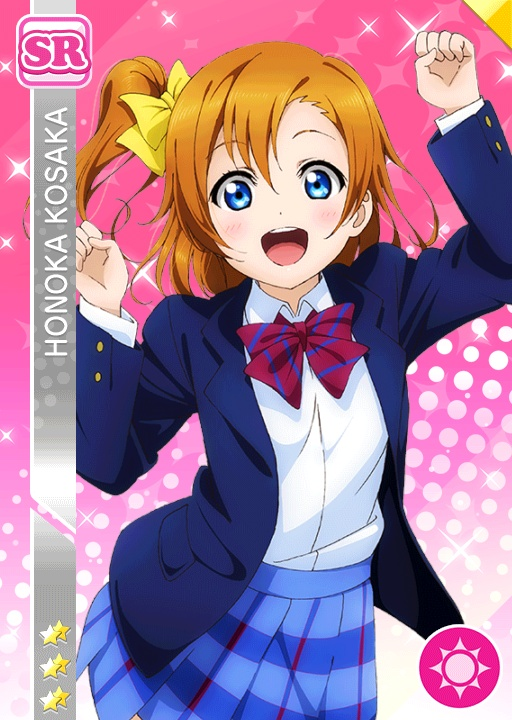 LOVE LIVE PROJECT (8 personnes) Honoka_smile_sr108_t