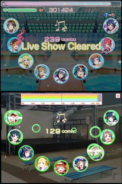 Gameplay - Love Live! School Idol Festival